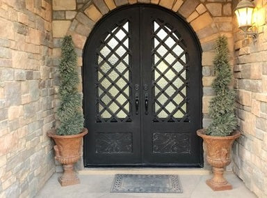 Iron Front Doors: Single or Double?