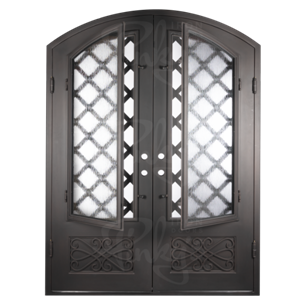 Welcome your Family This Thanksgiving With a New Decorative Iron Door