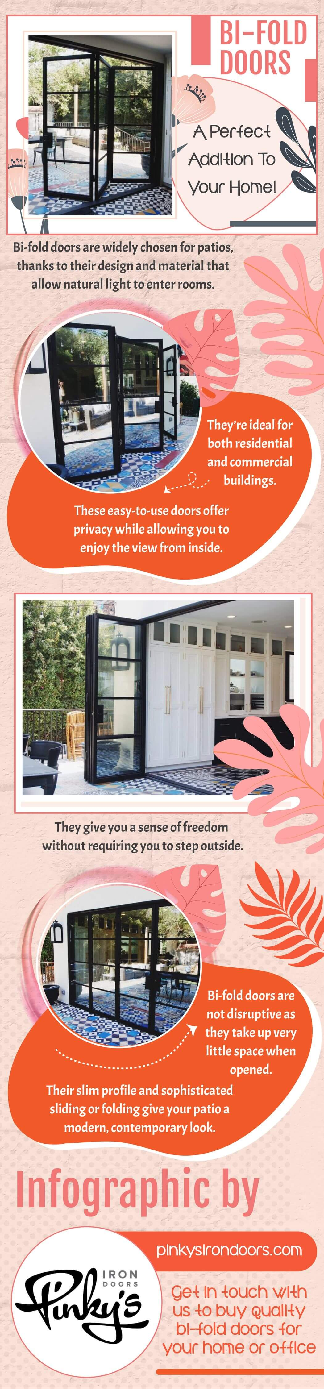 Bi-Fold Doors A Perfect Addition To Your Home!