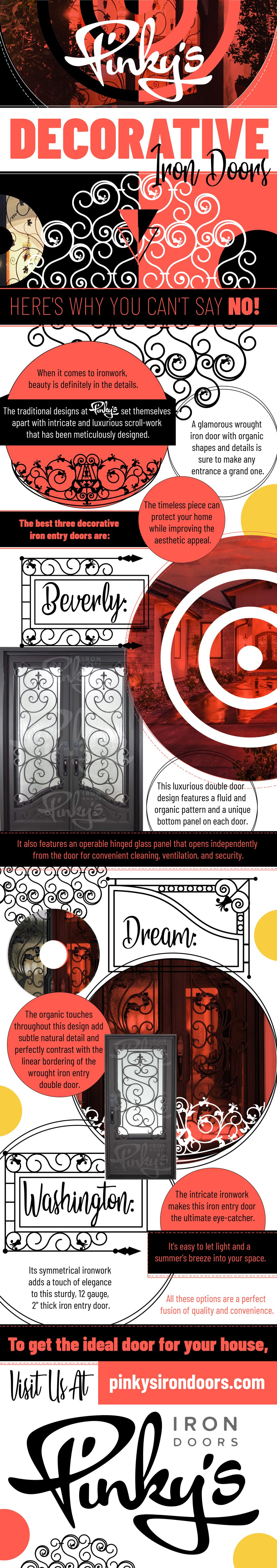 Pinky's Decorative Iron Doors