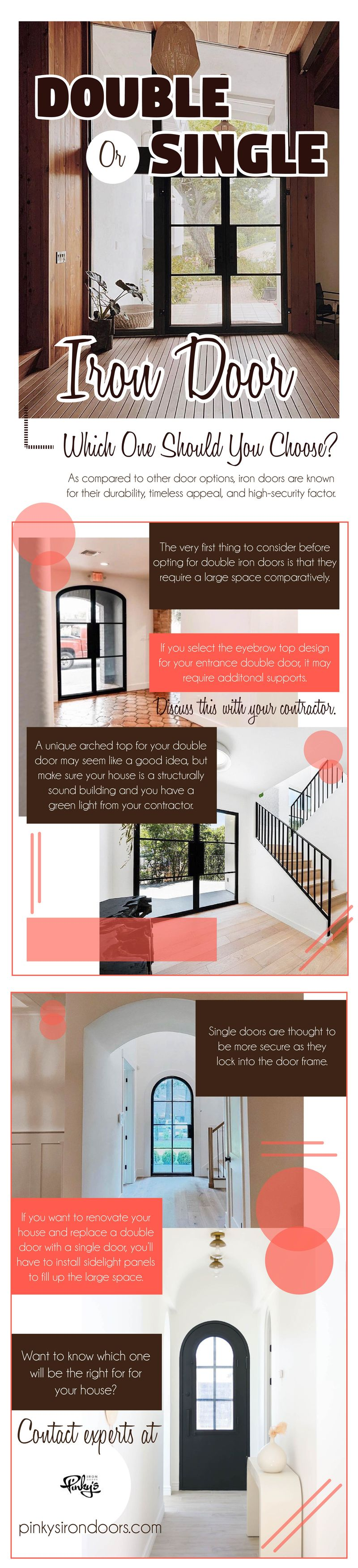 Double Or Single Iron Door Which One Should You Choose?