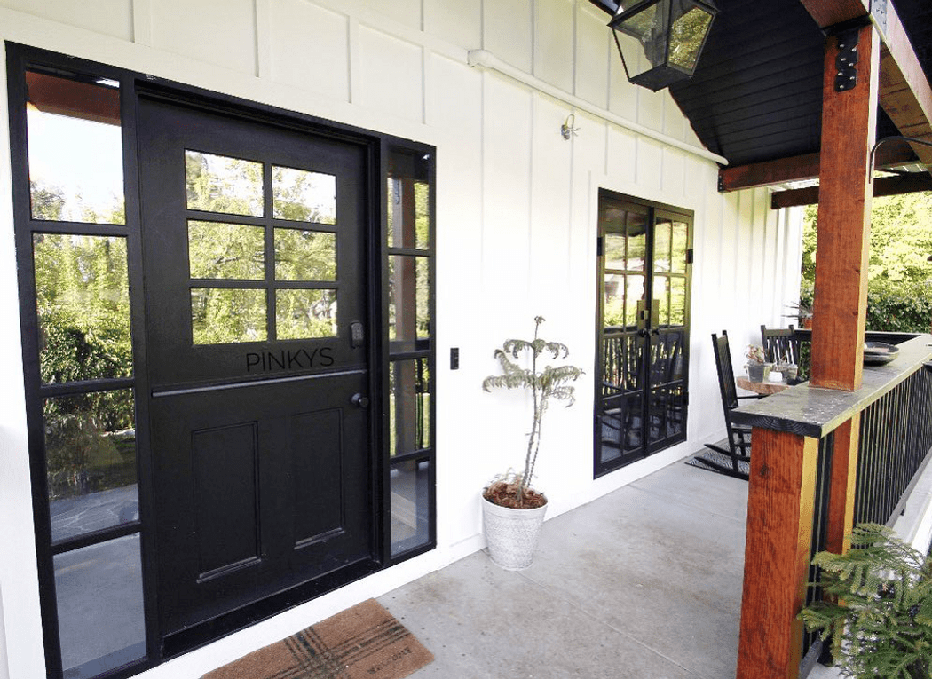 energy-efficient and durable Dutch doors installed in a modern home