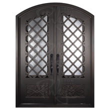 Load image into Gallery viewer, Double Iron Door for Front with Diamonds from Pinky's Iron Doors