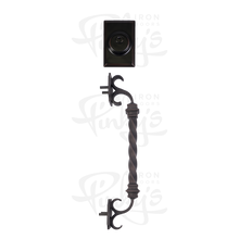 Load image into Gallery viewer, Wrought Iron Handle with Deadbolt for Pinky's Iron Doors