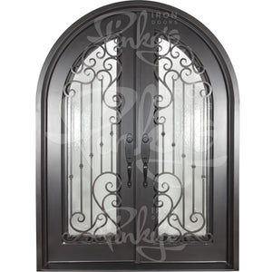Paris Thermally Broken - Double Full Arch | Special OrderThermally Broken Doors - Pinky's Iron Doors