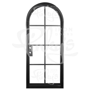 Air 5 Interior - Single Full Arch - w/ Threshold - Pinky's Iron Doors