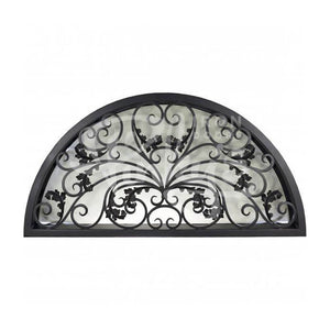 Dream Transom - Full Arch - Pinkys Iron Doors