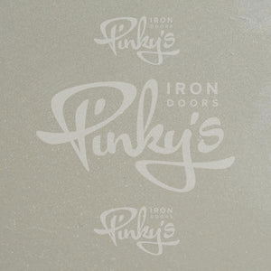 Color Sample - Pewter - Pinky's Iron Doors