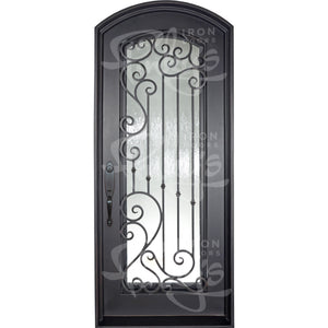 Paris Thermally Broken - Single Arch | Special Order - Pinky's Iron Doors