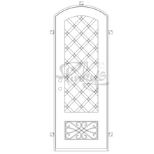 Load image into Gallery viewer, Queensway - Single Arch - Pinky's Iron Doors