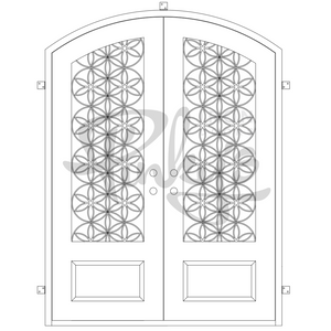 Woodstock Thermally Broken - Double Arch | Special OrderThermally Broken Doors - Pinky's Iron Doors