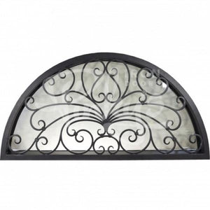 Miracle Transom Thermally Broken - Full Arch | Special Order - Pinky's Iron Doors