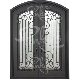 Paris - Double ArchIron Doors - Pinky's Iron Doors