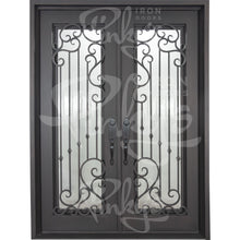 Load image into Gallery viewer, Paris - Double Flat - Pinky's Iron Doors