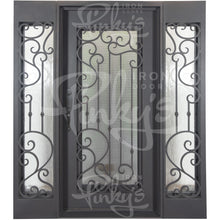 Load image into Gallery viewer, Paris - w/ Sidelights Flat Top | Special Order - Pinky's Iron Doors