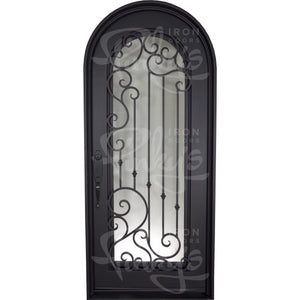Paris Thermally Broken - Single Full Arch | Special Order - Pinky's Iron Doors