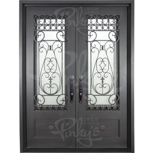 Parkside Thermally Broken - Double Flat | Special Order - Pinky's Iron Doors