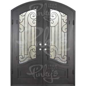 Piano Thermally Broken - Double Arch | Special Order - Pinky's Iron Doors