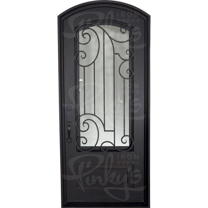 Piano - Single Arch | Special Order - Pinky's Iron Doors