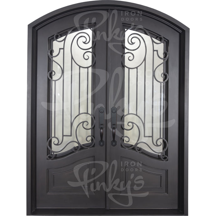 Piano - Double Arch | Special Order - Pinky's Iron Doors