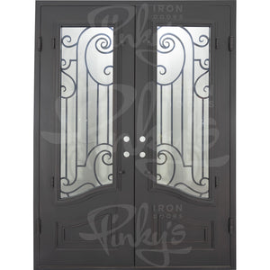Piano - Double Flat | Special Order - Pinky's Iron Doors