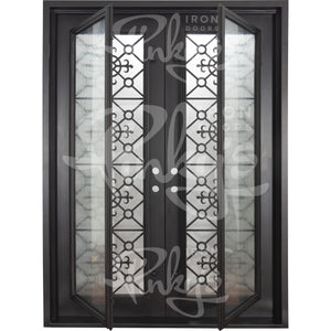 San Francisco Thermally Broken - Double Flat | Special Order - Pinky's Iron Doors