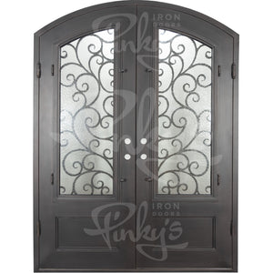 Story Thermally Broken - Double Arch | Special Order - Pinky's Iron Doors