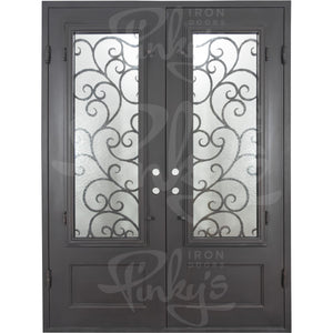 Story Thermally Broken - Double Flat | Special OrderThermally Broken Doors - Pinky's Iron Doors