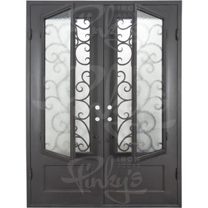 Story Thermally Broken - Double Flat | Special Order - Pinky's Iron Doors