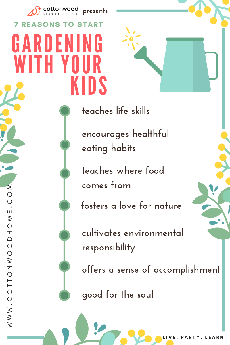 7 reasons to garden with your kids