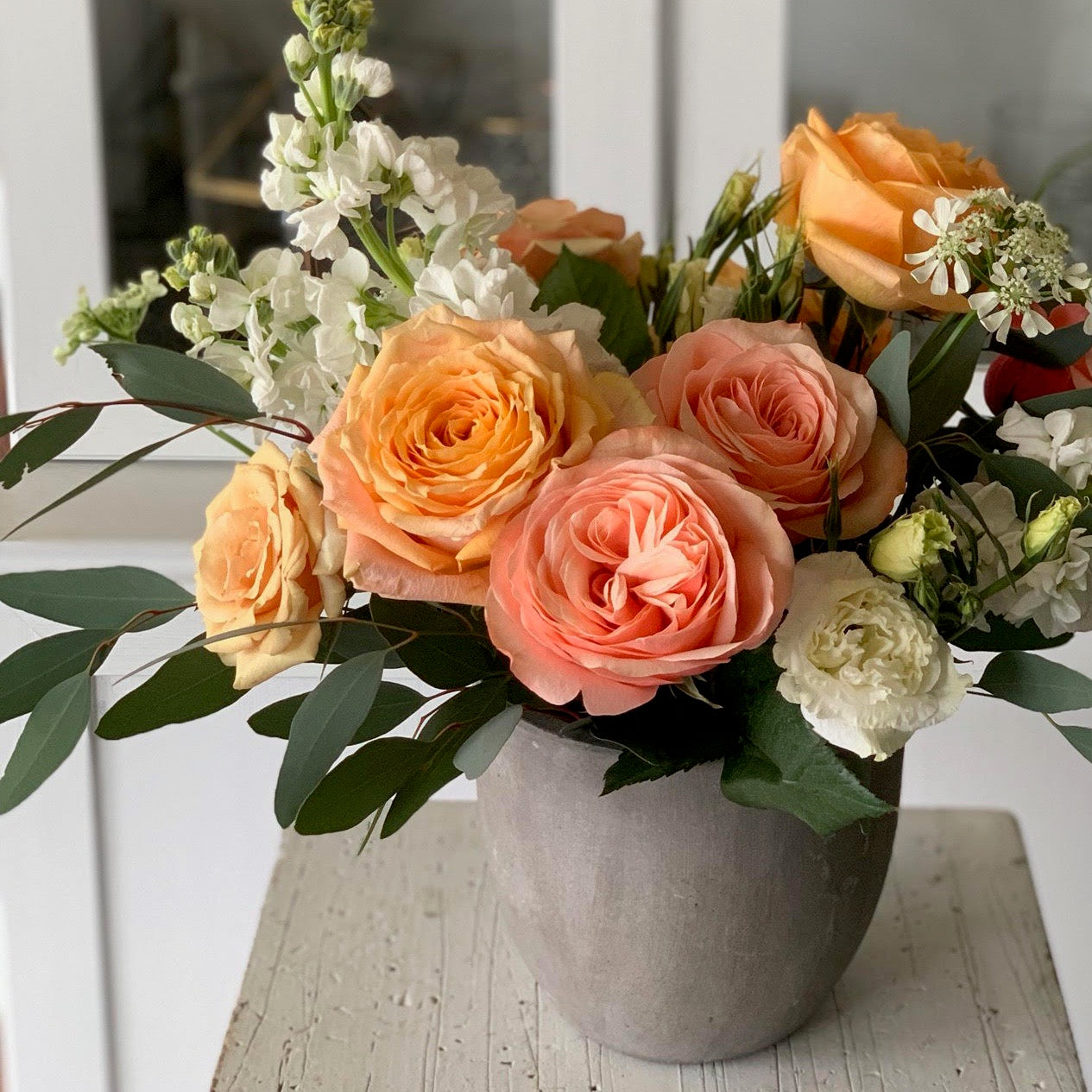 cottonwood homes floral arrangement workshop
