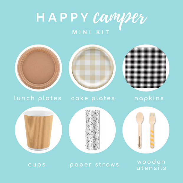 Party Kit - Happy Camper