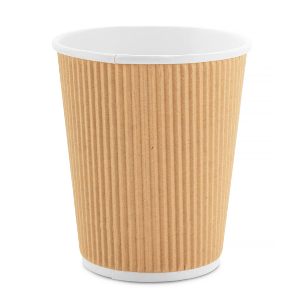 Party Paper Cup - Kraft Ripple