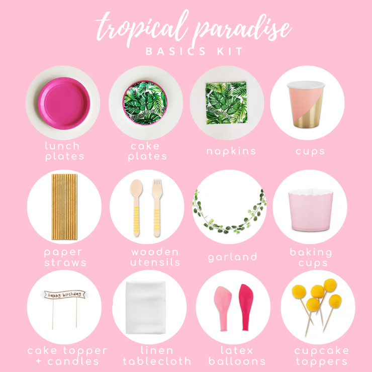 Party Kit - Tropical Paradise