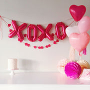 Valentine Heart Balloon Bouquet