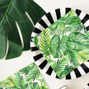 Party Napkin - Tropical leaves