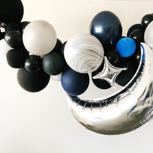 Party Balloon Garland - Midnight Sky - DIY Kit