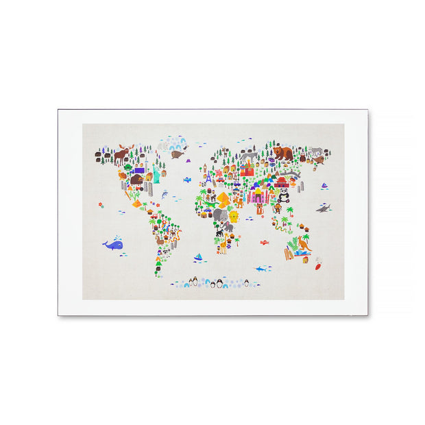 Wall Art - Animals of the World