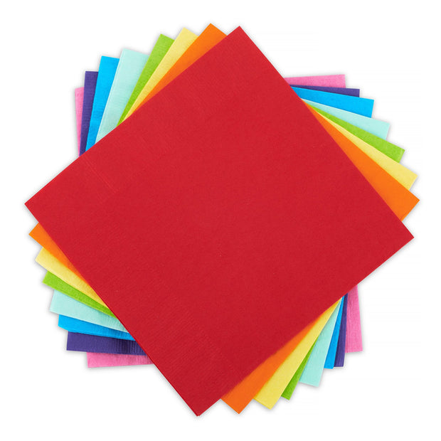 Rainbow Lunch Napkin Pack