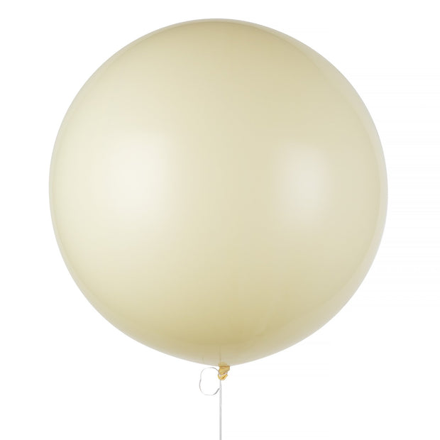 "Party Balloon - Extra Large - 36"" Ivory Latex Balloon"