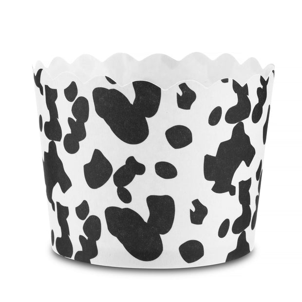 Snack Baking Cups, Cow Print