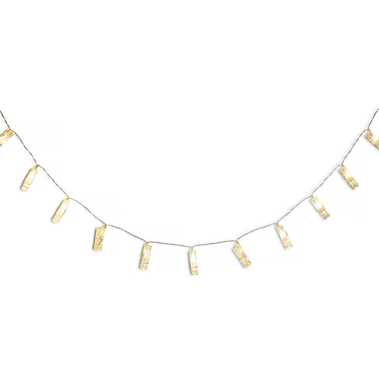 LED Light Clip Garland