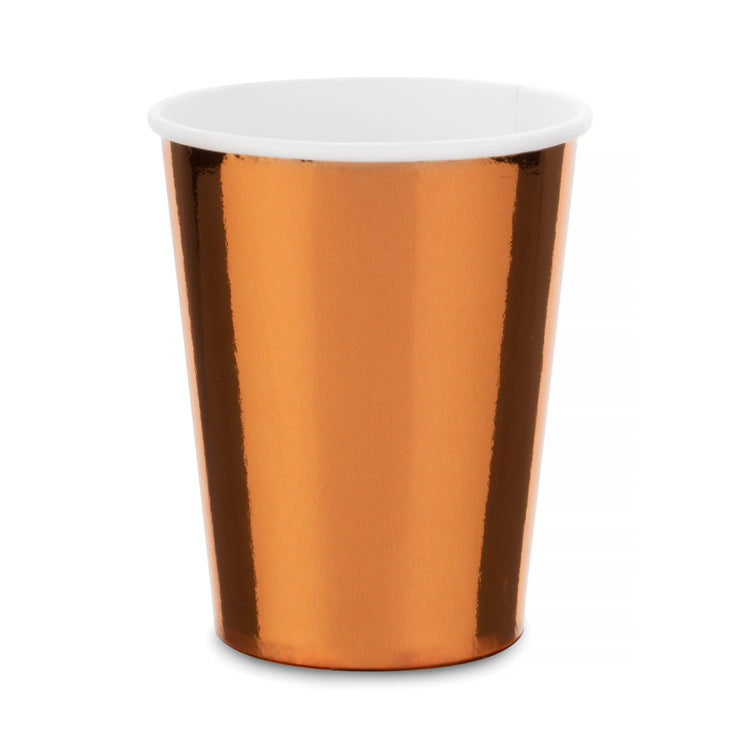 Party Paper Cup - Copper Foil