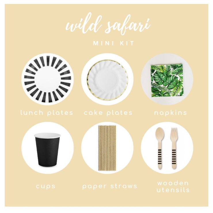 Party Kit - Wild Safari