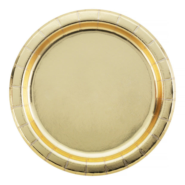 Party Plate - Gold - 7''