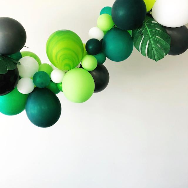 Party Balloon Garland - Welcome to the Jungle - DIY Kit