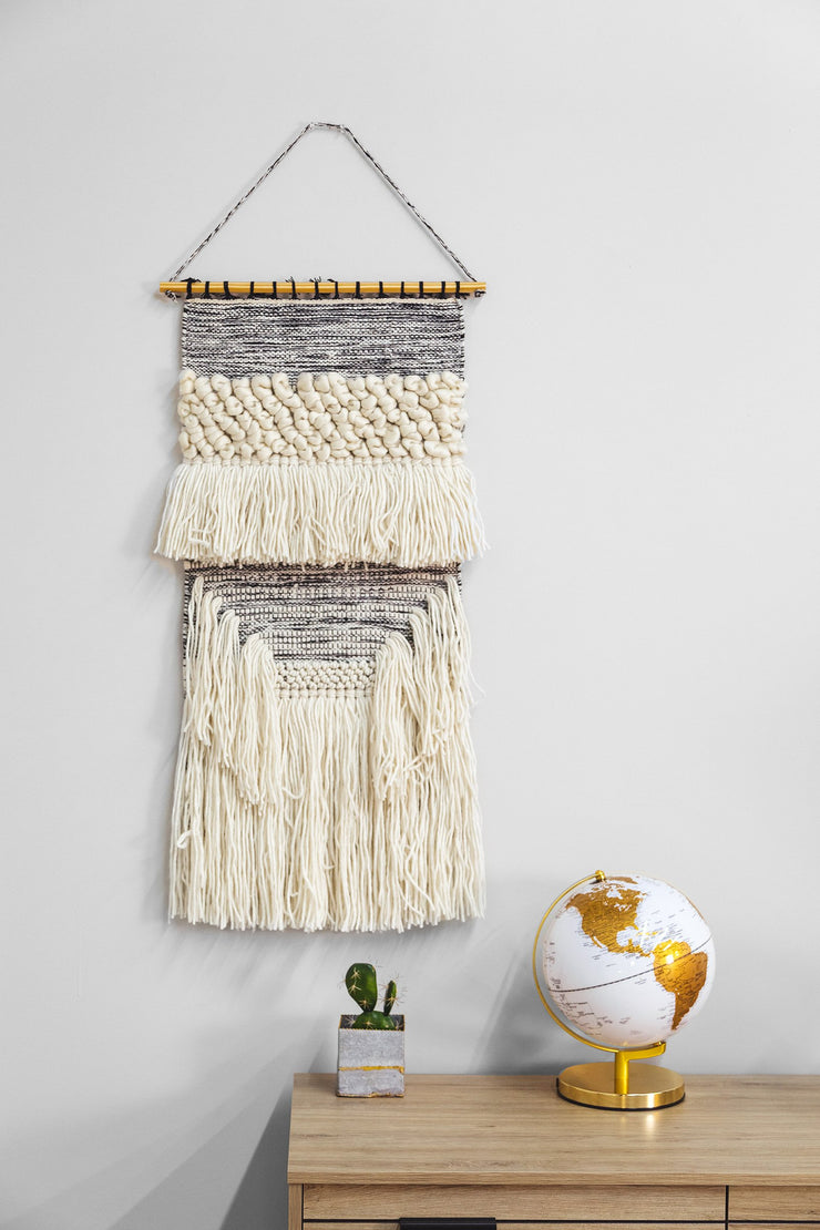 Wool & Cotton Wall Hanging