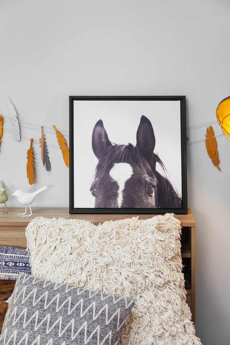 Wall Art - All Ears Framed Canvas