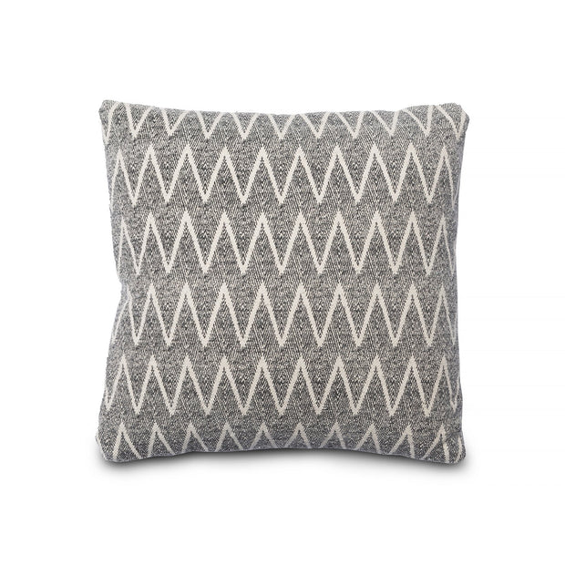 Decorative Throw Pillow - Square Chevron Print