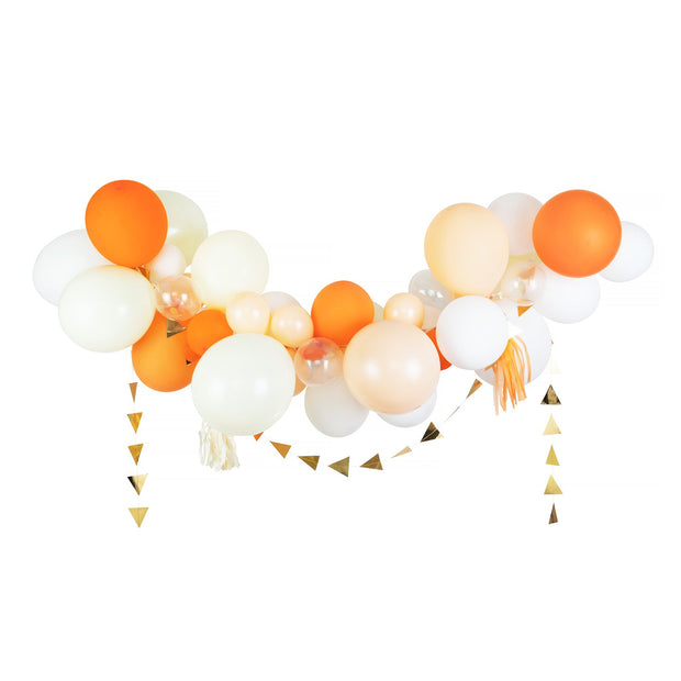 Party Balloon Garland - Tangerine Crush - DIY Kit